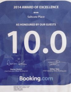 Booking.com Saltcote Place 10/10