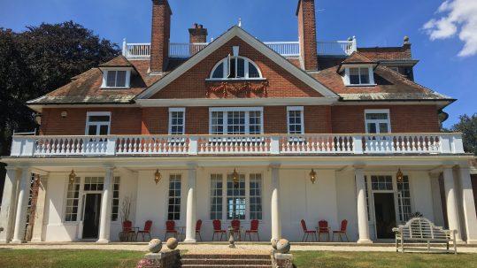 External view of East Sussex Wedding venue in Rye