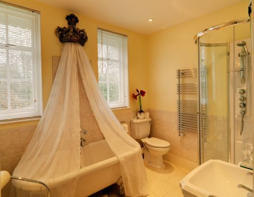 Royal Military Suite Bathroom Saltcote Place Rye