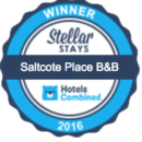 Stellar Stays Winner 2016 awarded to Saltcote Place