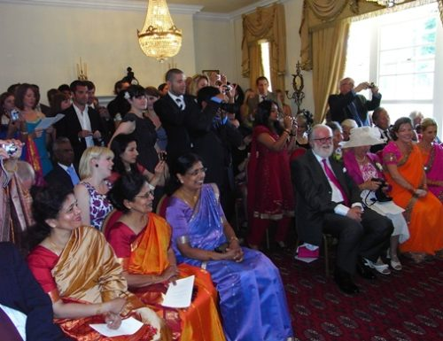 Asian Wedding venue own catering under and hour from London