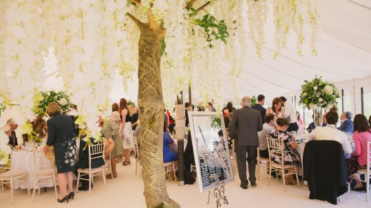 Wedding Marquee East Sussex at Saltcote Place